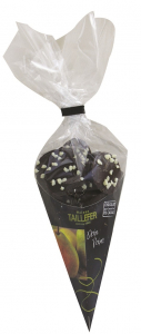Cornet chocolat noir fourrage poire - Maison Taillefer - 150 gr