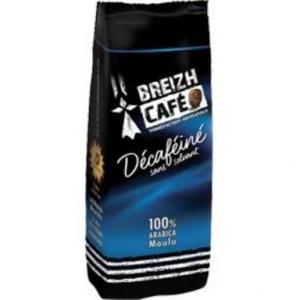 Café moulu Déca - Breizh Café - 100% arabica - 250 gr