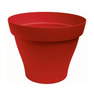 Pot Rond Roméo - Poetic - rouge -  35 cm