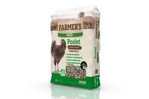 Granulés BIO Poulet - 20 kg - Farmer's