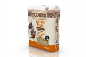 Granulés Complet Pintate et Dinde - 20 kg - Farmer's