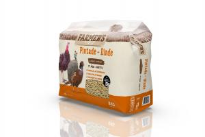 Granulés Complet Pintate et Dinde - 8 kg - Farmer's
