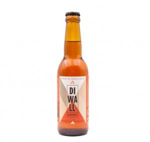 Bière ambrée bretonne de dégustation DIWALL - Distillerie Warenghem - 6 % - 33 cl