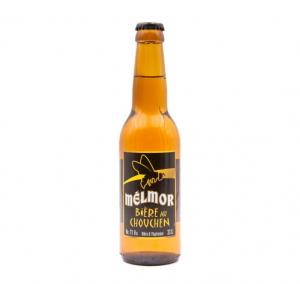 Bière blonde bretonne au chouchen MELMOR - Distillerie Warenghem - 7 % - 33 cl