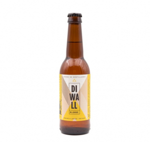 Bière blonde bretonne de dégustation DIWALL - Distillerie Warenghem - 6% - 33 cl