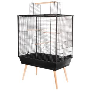 Cage oiseaux Neo Jili  noir H80 - ZOLUX