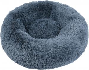 Corbeille ronde moelleuse Ø60 cm - Gris- Chat ou chien