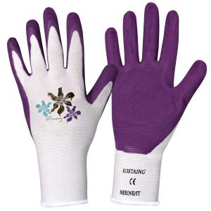 Gants de jardinage Nerine - Blackfox - Violet - De la taille 6 à 8