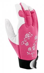 Gants de jardinage Jardy - Blackfox - rose- De la taille 7 à 9