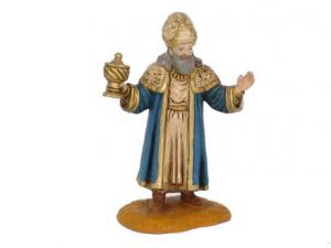 Figurine Roi Mage  Melchior 10cm. Oliver