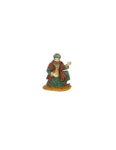 Figurine Roi Mage Gaspard 10cm. Oliver