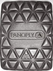 Genouillères pour pantalon Mach et Panostyle - Delta plus - polyéthylène - noir - x2