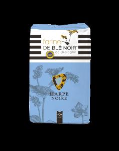Farine de blé noir harpe noire - IGP Bretagne - 500 g