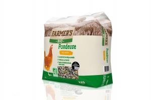 Céréales BIO Pondeuse - 8 kg - Farmer's