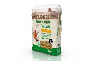 Céréales BIO Volaille - 20 kg - Farmer's