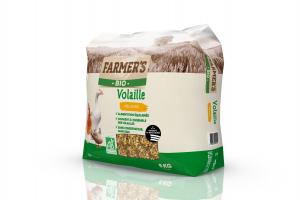 Céréales BIO Volaille - 8 kg - Farmer's