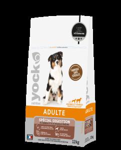 Croquettes sans céréales Digestionfacile chien adulte - Yock Nutrition