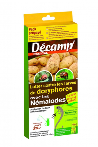 Nématodes contre larves de doryphores Décamp' Radical - CREA