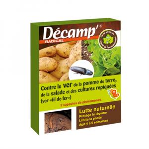 Phéromones contre ver de pomme de terre/salade Décamp' Radical - CREA