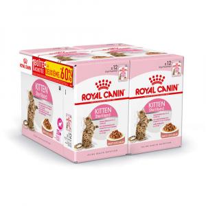 Bouchées en sauce pour chaton -Royal Canin - lot 2 boîtes de 12 sachets