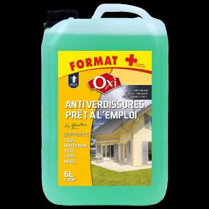 Antiverdissures prêt à l'emploi - Oxi - 6 L