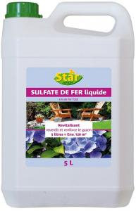 Sulfate de fer fluidisé - Star Jardin - 5L