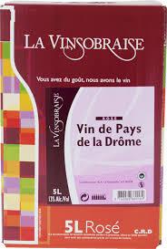 Vin de pays de Drome - Rosé - Bag in Box de 5 litres