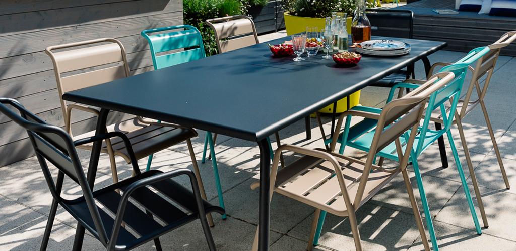 table-monceau-fermob-metal