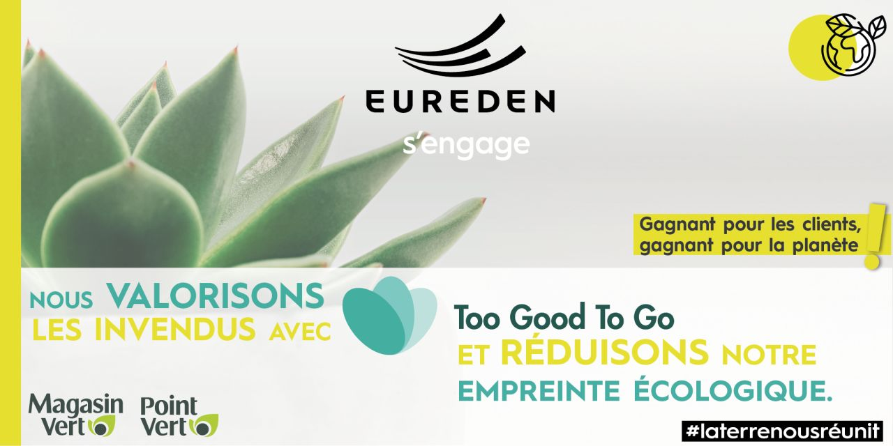 Eureden s'engage - Too Good To Go
